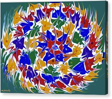 Kaleidoscope A Canvas Print