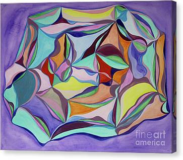 Kaleidoscope Canvas Print by Elena Fattakova