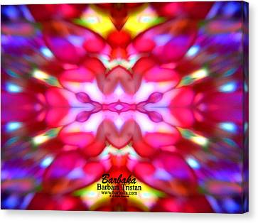 Canvas Print featuring the photograph Kaleidoscope Wonder by Barbara Tristan
