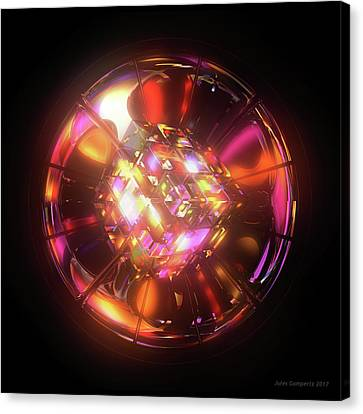 Canvas Print - Kaleidoscope by Jules Gompertz