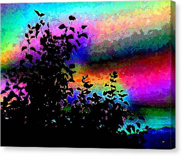 Colorful Sky Canvas Print - Kaleidoscopic Sky by Will Borden
