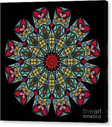 Canvas Print featuring the digital art Kali Katp - 10 by Aimelle