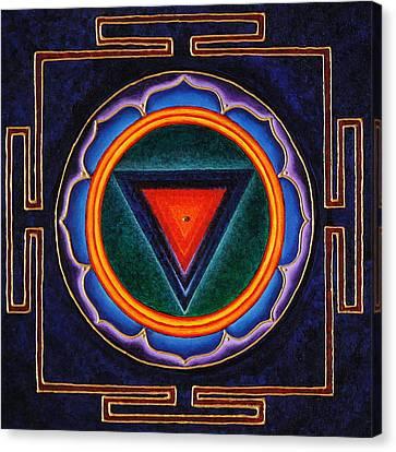 Kali Yantra Canvas Print