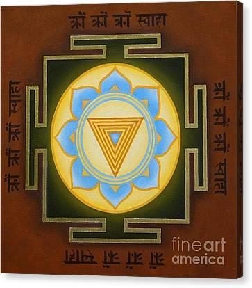 Kali Yantra Canvas Print - Kali Yantra by Piitaa - Sacred Art