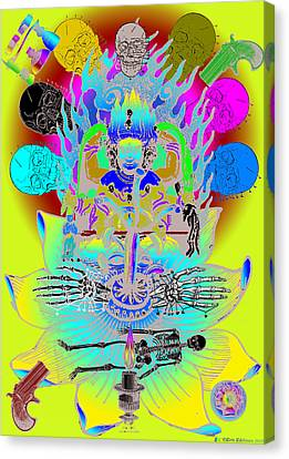 Kali Yuga Canvas Print by Eric Edelman