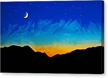 Kalkan Sunset Canvas Print by Gareth Davies