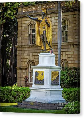 Kamehameha The Great Canvas Print by Jon Burch Photography