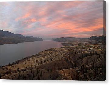 Kamloops Lake British Columbia Canada Canvas Print