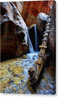 Flow Canvas Print - Kanarra by Chad Dutson