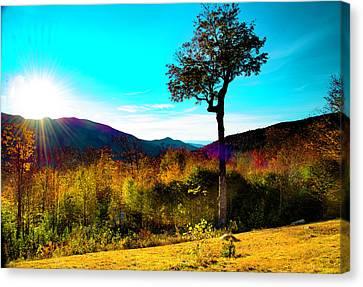 Kancamagus Sunset Canvas Print