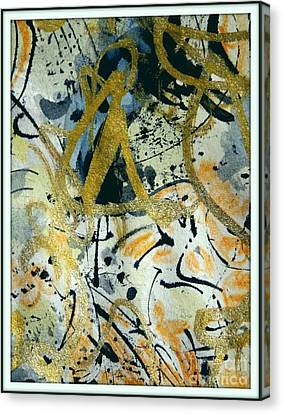 Kandinsky Fan Canvas Print by Nancy Kane Chapman