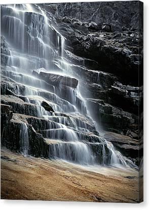 Kane Falls Canvas Print by Leland D Howard