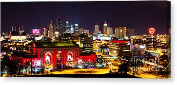 Kansas City Celebrates The Chiefs Canvas Print