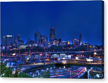 Kansas City Fantasy Canvas Print