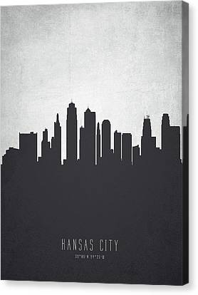 Kansas City Canvas Print - Kansas City Missouri Cityscape 19 by Aged Pixel