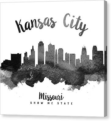 Kansas City Canvas Print - Kansas City Missouri Skyline 18 by Aged Pixel