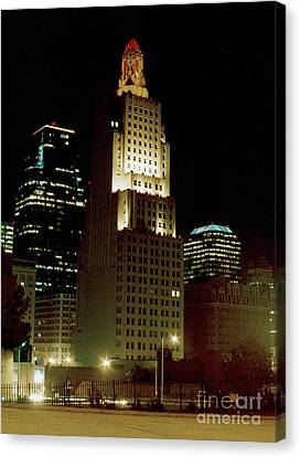 Kansas City Night Canvas Print
