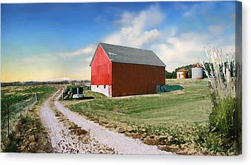 Kansas Landscape II Canvas Print by Steve Karol