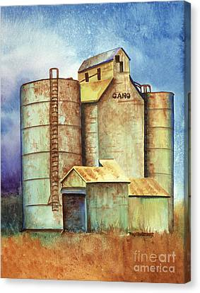 Kansas Past Canvas Print by Tracy L Teeter