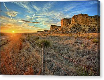 Kansas Scyscraper Canvas Print by Thomas Zimmerman