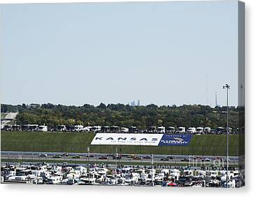 Kansas Speedway Canvas Print