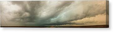 Kansas Storm Chase Bust Day 001 Canvas Print