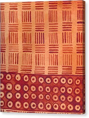 Kapa Patterns 76 Canvas Print by Cynthia Conklin