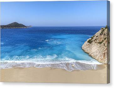 Kaputas Beach - Turkey Canvas Print by Joana Kruse