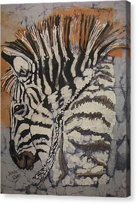 Karen Says Hello Canvas Print by Jennifer Raby