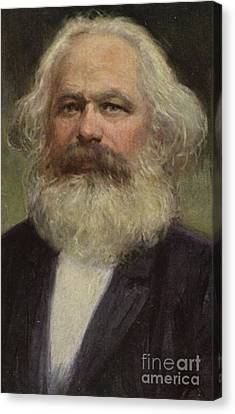 Karl Marx  Canvas Print by European School