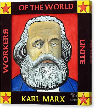 Karl Marx Canvas Print by Paul Helm