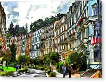 Karlovy Vary Canvas Print by Jean-Marc Lacombe