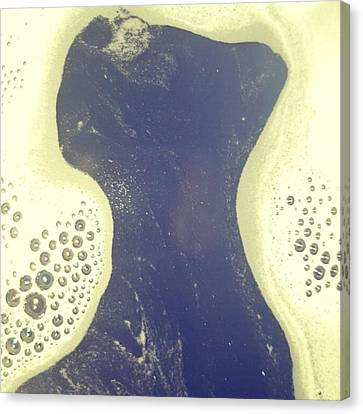 Karma Bubble Bar & Twilight Bathbomb Canvas Print by Natalie Anne