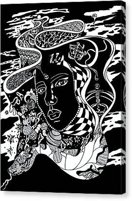 Karma Canvas Print
