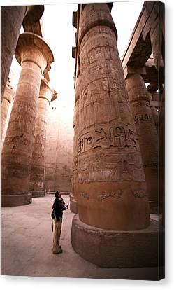 Karnak Temple Canvas Print