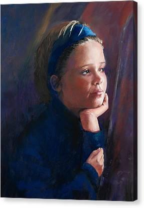 Katherine Canvas Print by Jeanne Rosier Smith