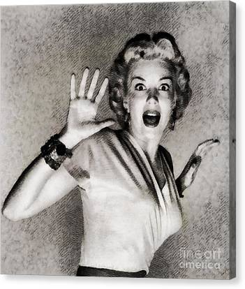 Kathleen Hughes In It Came From Outer Space Canvas Print by John Springfield
