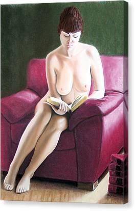 Kathryns Pasttime Canvas Print by Joseph Ogle