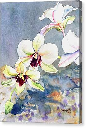 Kauai Orchid Festival Canvas Print by Marionette Taboniar