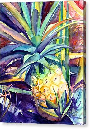 Kauai Pineapple 4 Canvas Print