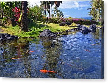 Kauai Serenity Canvas Print by Marie Hicks