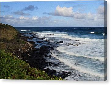 Kauai Shore 1 Canvas Print