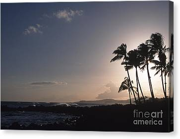 Kauai Sunset Canvas Print