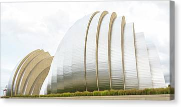 Kauffman Center Performing Arts Canvas Print by Pamela Williams