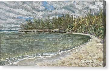 Kawela Bay Canvas Print by Patti Bruce - Printscapes