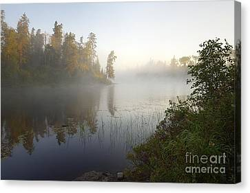 Kawishiwi Morning Fog Canvas Print