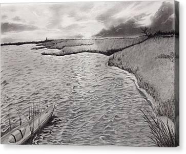 Kayak Cove Canvas Print