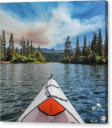 Kayak Views Canvas Print