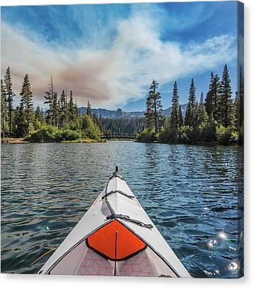 Kayak Views Canvas Print by Alpha Wanderlust