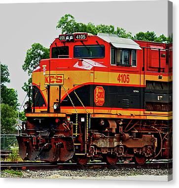 Kcs Engine 4105 Canvas Print